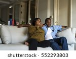 african descent family house... | Shutterstock . vector #552293803