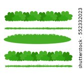 green grass | Shutterstock .eps vector #552332023