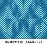 vector endless geometric... | Shutterstock .eps vector #552357703