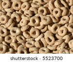 toasty oat cereal macro | Shutterstock . vector #5523700