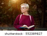 young female international... | Shutterstock . vector #552389827
