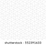 seamless linear pattern with... | Shutterstock .eps vector #552391633