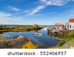 a typical scenic  small fishing ...   Shutterstock . vector #552406957