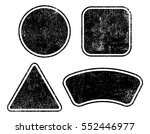 set of grunge badge and labels. ... | Shutterstock .eps vector #552446977