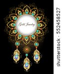 round  jewelry banner  made in...