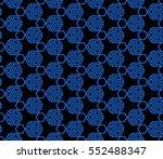 geometric patterns of the shape ... | Shutterstock .eps vector #552488347