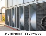 installed industrial... | Shutterstock . vector #552494893