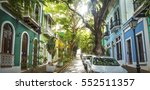 panoramic photo of old san juan ... | Shutterstock . vector #552511357