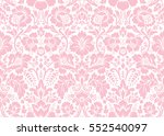 vector seamless floral pattern... | Shutterstock .eps vector #552540097