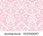 vector seamless floral pattern... | Shutterstock .eps vector #552540097