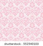 vector seamless floral pattern... | Shutterstock .eps vector #552540103