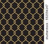 seamless geometric interlacing... | Shutterstock .eps vector #552556147