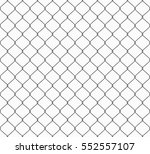 metallic wired fence seamless... | Shutterstock .eps vector #552557107
