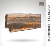 brush stroke and texture.... | Shutterstock .eps vector #552581407