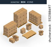 vector illustration. set of... | Shutterstock .eps vector #552588697