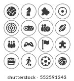 game icons set   Shutterstock .eps vector #552591343