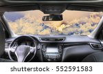 car in the landscape | Shutterstock . vector #552591583