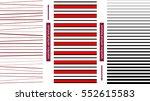 simple seamless vertical... | Shutterstock .eps vector #552615583