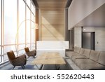office waiting area with sofas  ... | Shutterstock . vector #552620443