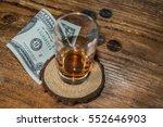 left a tip after service on... | Shutterstock . vector #552646903