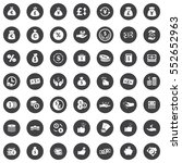 investment icons | Shutterstock .eps vector #552652963