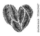hand drawn vector illustration  ... | Shutterstock .eps vector #552662467
