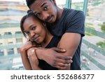 portrait of young african... | Shutterstock . vector #552686377