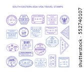 bitmap south eastern asia... | Shutterstock . vector #552740107