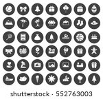 holiday icons   Shutterstock .eps vector #552763003
