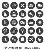 industrial icons | Shutterstock .eps vector #552763087