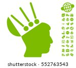 open mind interface icon with... | Shutterstock .eps vector #552763543