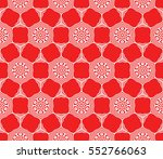 decorative floral seamless... | Shutterstock .eps vector #552766063