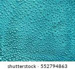 oxygen bubbles in the bottle... | Shutterstock . vector #552794863