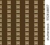 celtic knot seamless pattern | Shutterstock .eps vector #552818857