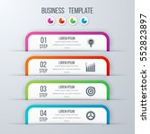 modern infographics options... | Shutterstock .eps vector #552823897