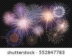 a set of isolated vector... | Shutterstock .eps vector #552847783