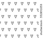 abstract heart pattern with...   Shutterstock . vector #552851053