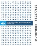 construction and industry icon... | Shutterstock .eps vector #552877693