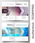 business templates for brochure ... | Shutterstock .eps vector #552899983