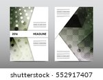 brochure layout template flyer... | Shutterstock .eps vector #552917407