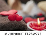 wellness decoration  valentine... | Shutterstock . vector #552919717