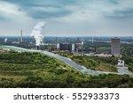 view over the german ruhr area... | Shutterstock . vector #552933373