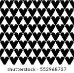monochrome geometric shape... | Shutterstock .eps vector #552968737