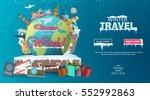 winter travel. travel to world. ...