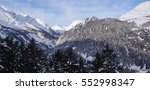 Small photo of Val di Blenio, Switzerland: Winter view on the Adula massif from Gorda.