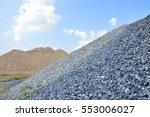 hill of fine and coarse... | Shutterstock . vector #553006027