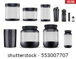 big set of template sport... | Shutterstock .eps vector #553007707