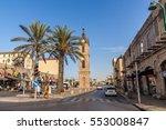 tel aviv   november 22  jaffa... | Shutterstock . vector #553008847