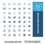 data analysis icon set vector   Shutterstock .eps vector #553026883