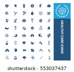 medical icon healthy care icon ... | Shutterstock .eps vector #553037437